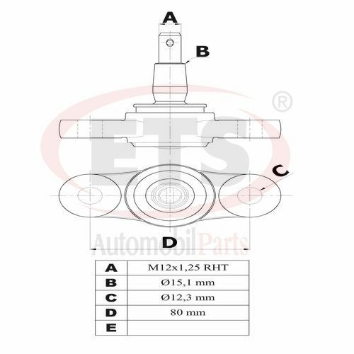 hyundai i30  fd    lower ball joint details