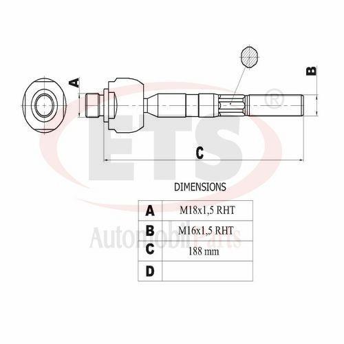 kia sorento ii  xm    axial joint lh details