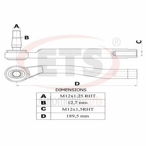 Chevrolet Kalos Klas Aveo Tie Rod End Lh Details