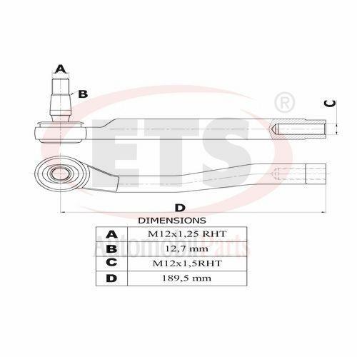 Chevrolet Kalos Klas Aveo Tie Rod End Rh Details